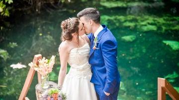 Tamara y Álvaro, recién casados de la cuarta edición
