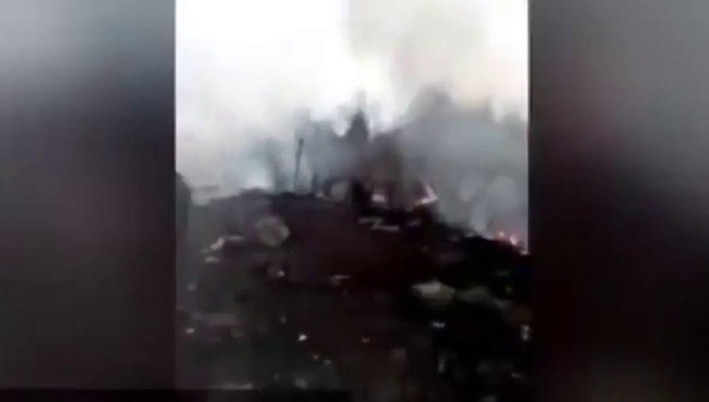 Al menos cinco muertos en un accidente de dos helicópteros militares en Francia