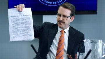 Julián Ocaña, el Ministro del Interior con la propuesta de renovación