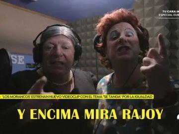 """'Los Morancos' denuncian la brecha salarial con su nuevo videoclip 'Se tanga': """"Pretendemos hablar de la actualidad y dejar mensajes"""""""
