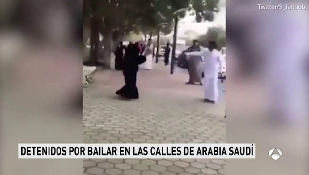 Ordenan la detención de dos jóvenes por bailar en la calle y grabarlo en un vídeo en Arabia Saudí