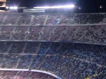 El Camp Nou registra su segunda peor entrada de la temporada