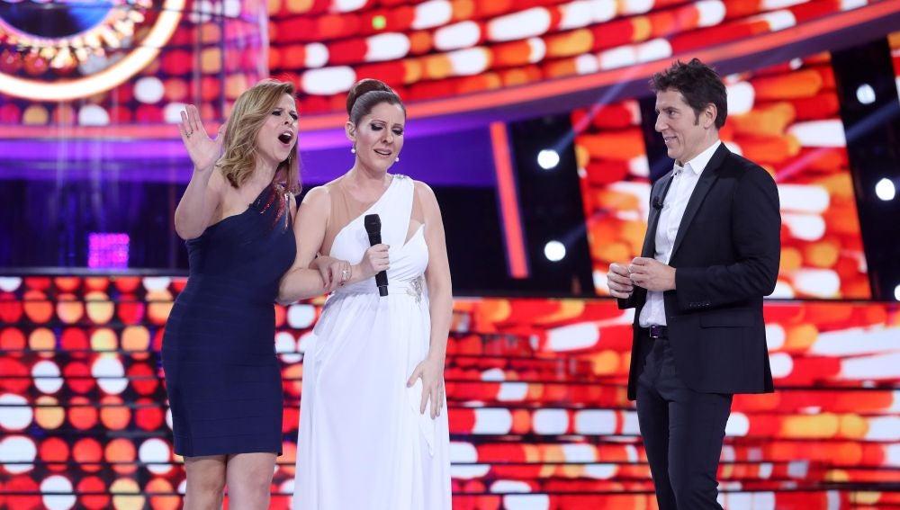Pastora Soler y Diana Navarro unen sus voces para interpretar 'Quédate conmigo' en 'Tu cara me suena'