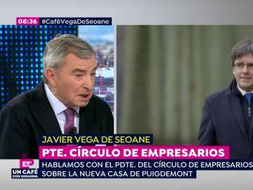 """Javier Vega de Seoane, sobre el candidato para la Generalitat: """"Lo mejor sería una persona razonable y que no tenga problemas con la justicia"""""""