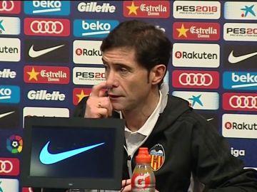 """Marcelino, sobre el arbitraje ante el Barça: """"Me hubiera gustado competir de otra forma"""""""