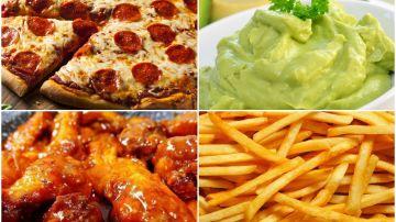 Toneladas de comida se consumirán durante la Super Bowl