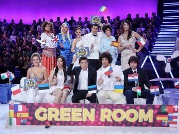 Los concursantes de la sexta edición de 'Tu cara me suena' en el 'Especial Eurovisión'