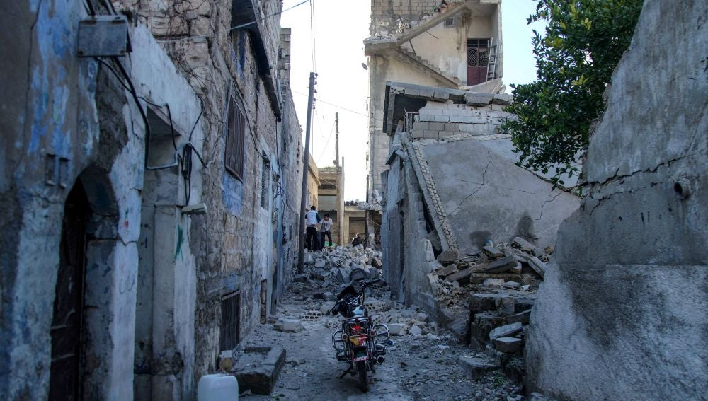 Destrucción en Siria