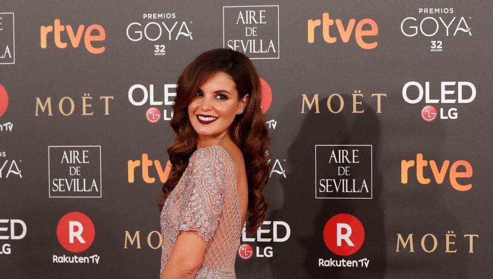 Marta Torné, con un look espectacular para los Goya
