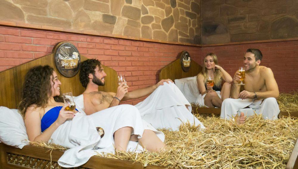 El spa de cerveza de Granada