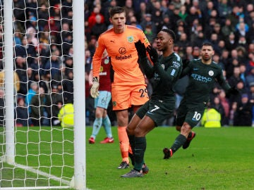 El Manchester City tropieza con el Burnley
