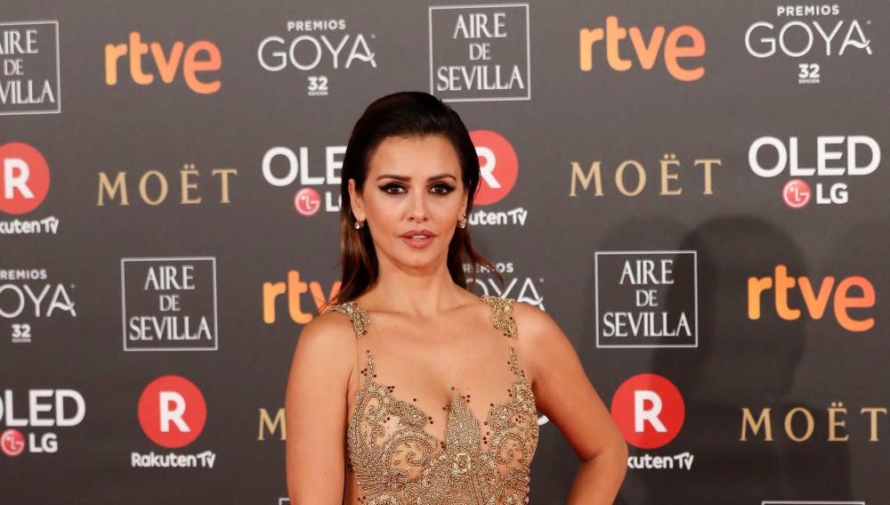 Mónica Cruz, espectacular de Rubén Hernández