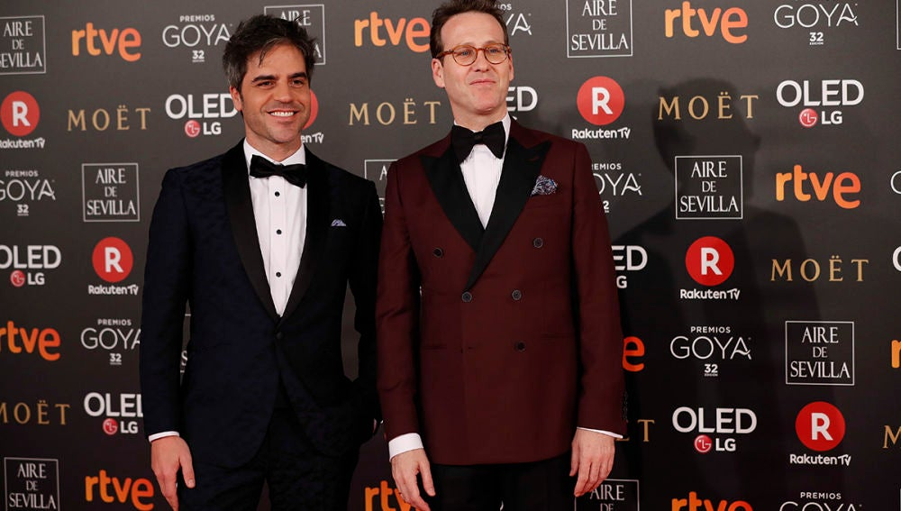Ernesto Sevilla y Joaquín Reyes, presentadores de los Goya 2018