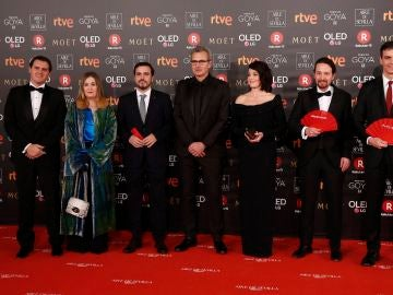Los políticos, en la gala de los Goya 2018