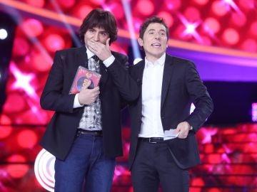 Raúl Pérez, muy emocionado, se hace con el triunfo en el 'Especial Eurovisión' de 'Tu cara me suena'