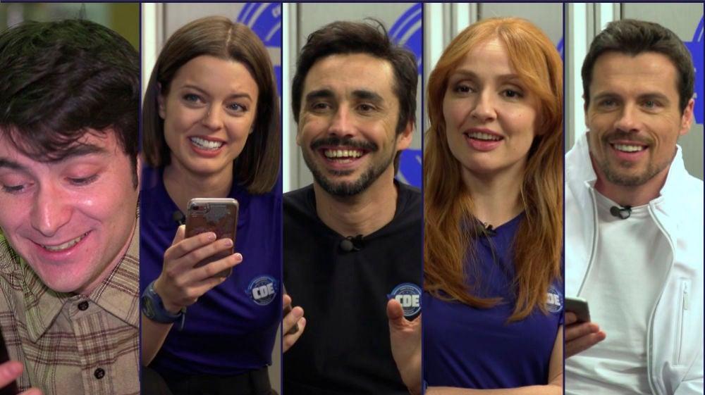 Los actores de 'Cuerpo de Élite' responden a un divertido test