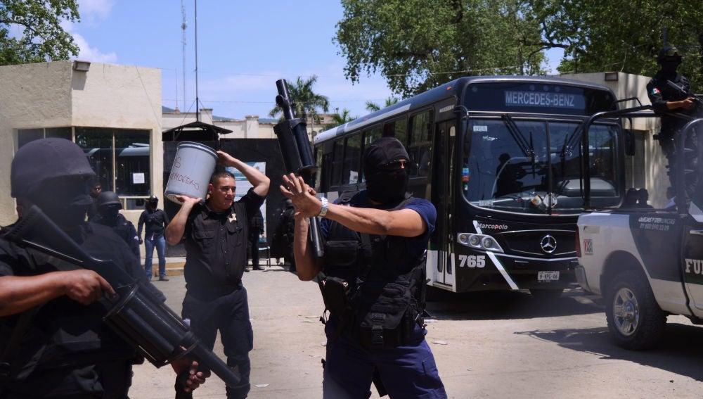 Policía de Tamaulipas, en México