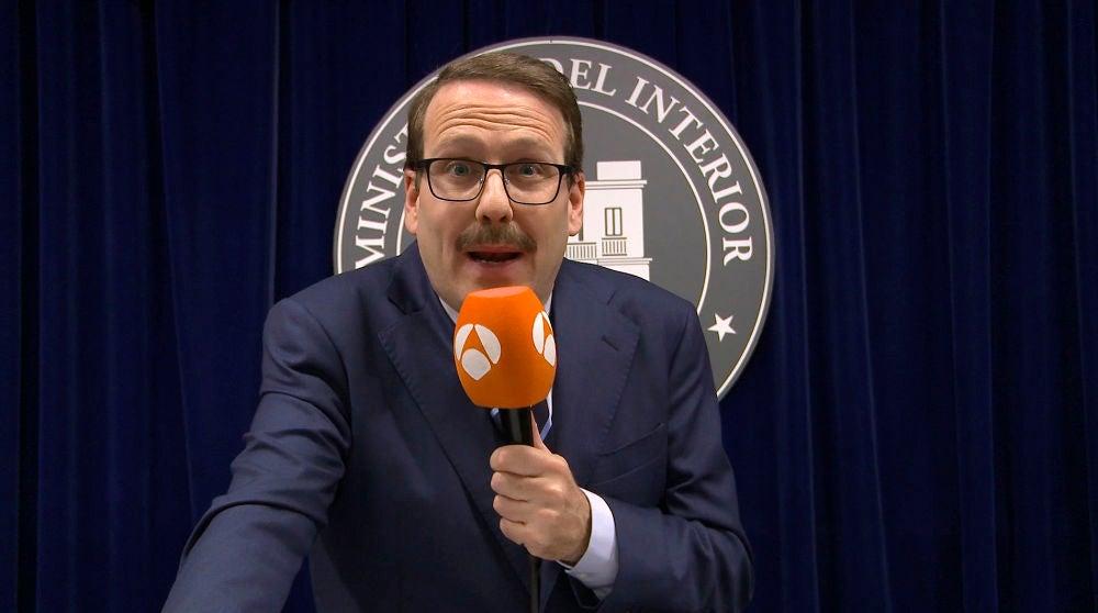 Antena 3 tv cuerpo de lite joaqu n reyes 39 cuerpo de for Ministro de interior actual