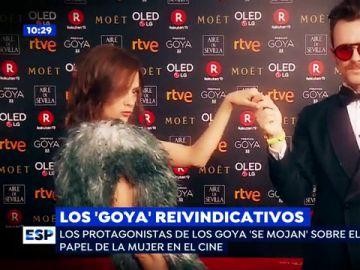 Los protagonistas de los Goya reclaman más papeles femeninos en el cine