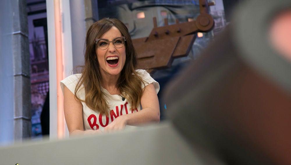 Ana Morgade imita el ataque de risa más gracioso de la historia