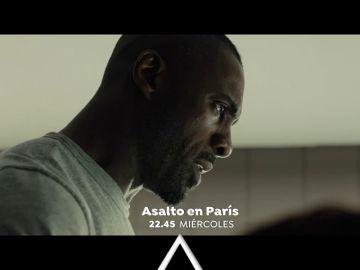 Idris Elba y Richard Madden protagonizan 'Asalto en París'