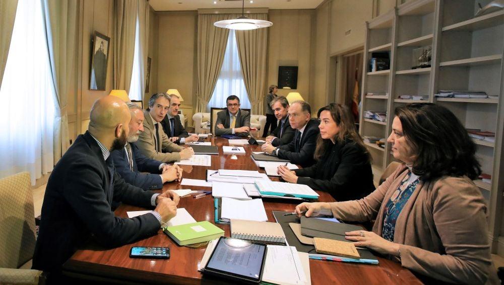 El gabinete de crisis que se ha reunido ante la situación meteorológica