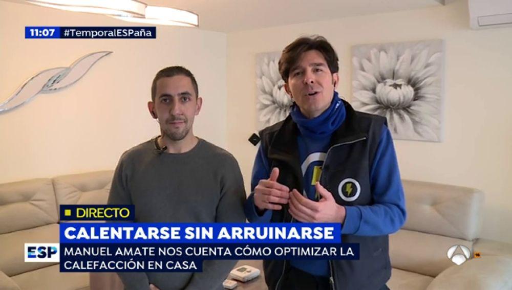 Las técnicas preventivas de Manuel Amate para optimizar la calefacción en casa