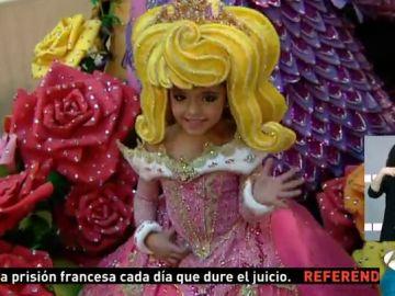 Jennifer de Filippis, nueva reina del carnaval infantil de Gran Canaria