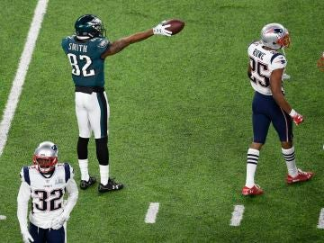 Los Eagles dan la sorpresa y ganan la Super Bowl ante los Patriots