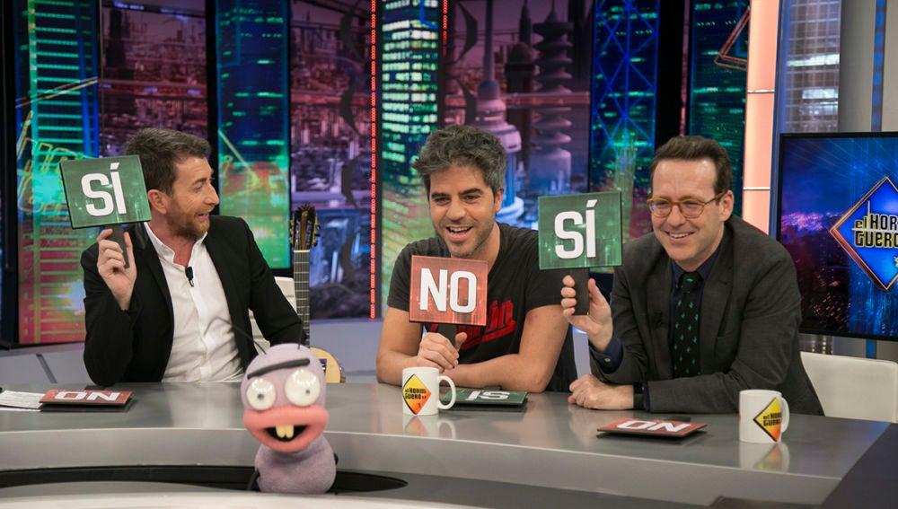 Ernesto Sevilla y Joaquín Reyes responden al test del 'Viejoven'
