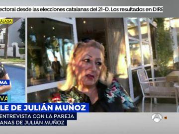 La versión de la mujer que bailó sevillanas con Julián Muñoz