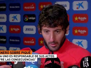 "Granero responde a Piqué: ""Cuando quieres que te respeten, primero respeta tú"""