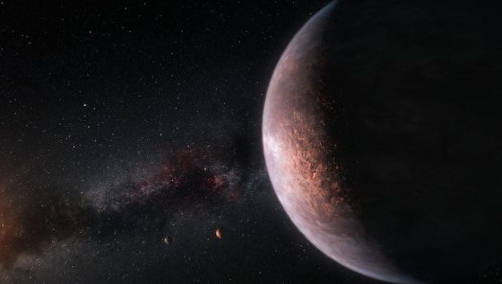 Los exoplanetas de TRAPPIST-1 podrían tener 250 veces más de agua que la Tierra
