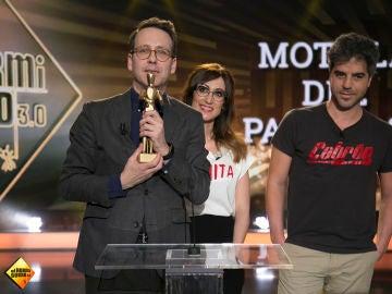 El discurso de agradecimiento que darían Ernesto Sevilla y Joaquín Reyes tras ganar un premio