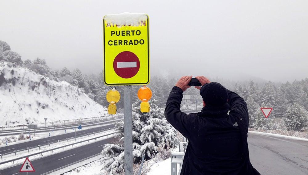 Señal que indica que el puerto está cerrado