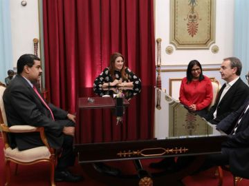 Maduro se reúne con Rodríguez Zapatero