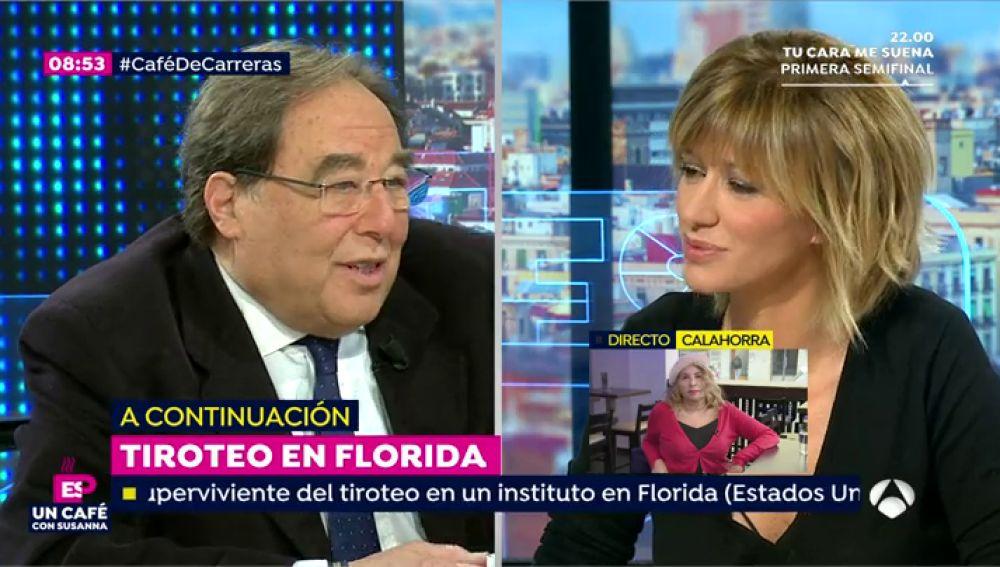 """Francesc de Carreras: """"No podemos tratar el castellano en la escuela como si fuera el inglés"""""""