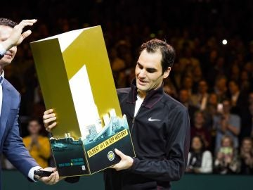 Roger Federer, el nº 1 más longevo de la historia