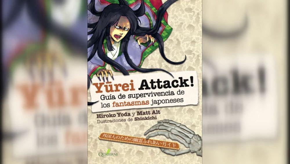 Yurei Attack! El libro que asegura entretenimiento y la supervivencia ante un ataque fantasma