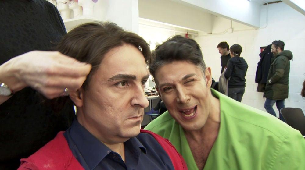 Una gran revolución llega a la sala de maquillaje y caracterización de 'Tu cara me suena'