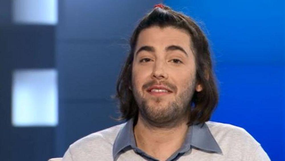 Salvador Sobral en la televisión de Portugal