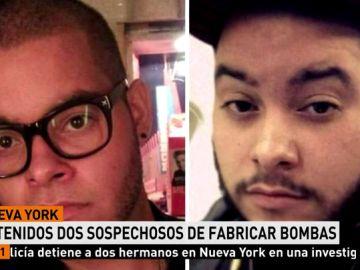 Dos hermanos detenidos en Nueva York acusados de fabricar material explosivo