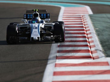 Lance Stroll, con el Williams de la pasada temporada