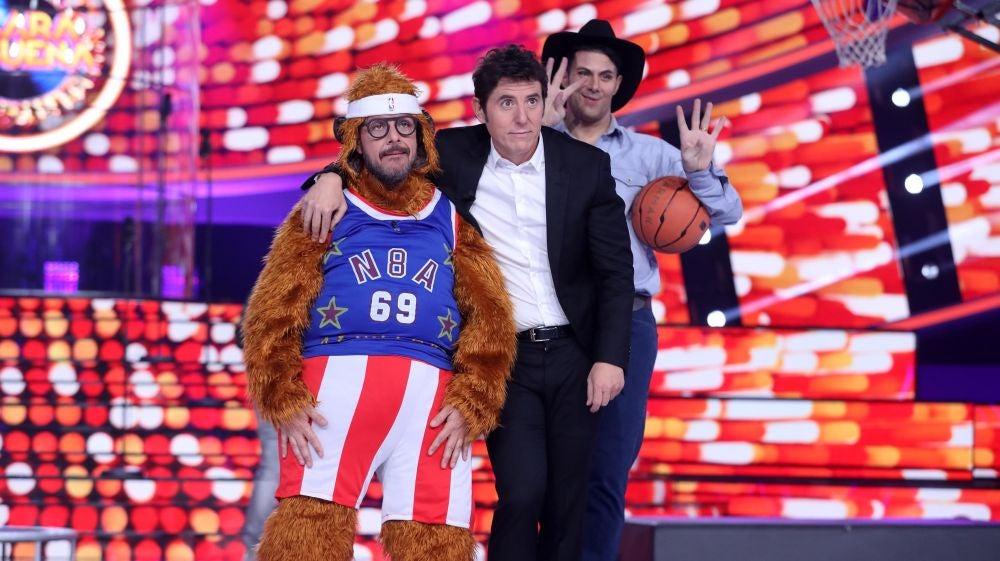 ¿Quién será el rey del baloncesto de 'Tu cara me suena'?