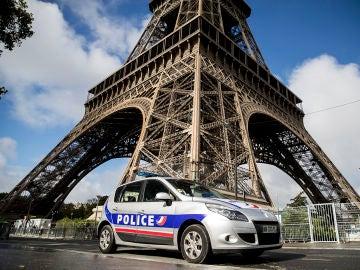 Imagen de archivo del coche de la policía francesa