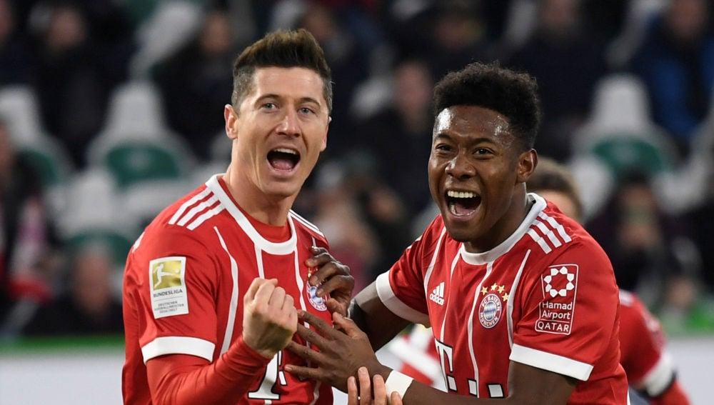 Lewandowsi dio el triunfo al Bayern