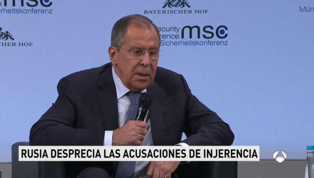 """Rusia califica de """"bobadas"""" las acusaciones en EEUU contra la injerencia rusa en las elecciones"""