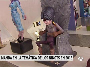 Ninot de Carles Puigdemont