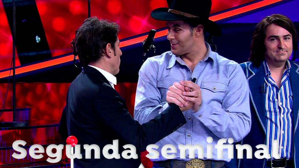 El viernes, en directo, llega la segunda semifinal de la sexta edición de 'Tu cara me suena'