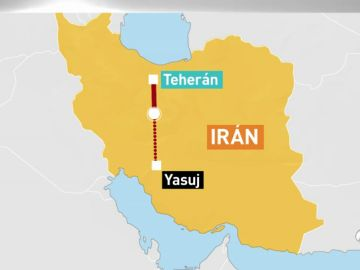 Mueren 66 personas al estrellarse un avión iraní cerca de la localidad de Semirom